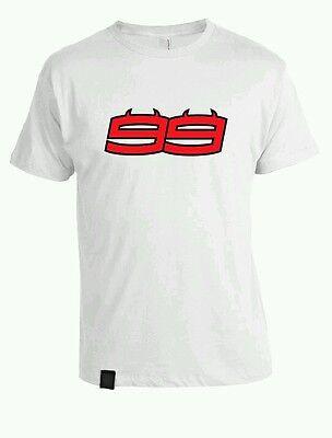 Camiseta Algodon 99 Jorge Lorenzo Demonio Ducati