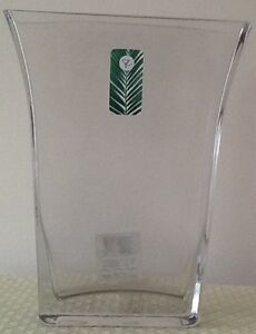 New Clear glass vase  & other $5 DECOR;  $5, or  3/$25