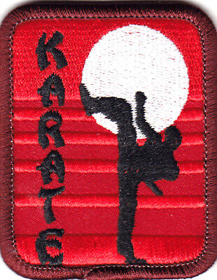 KARATE Iron On Patch Sports Martial Arts ()