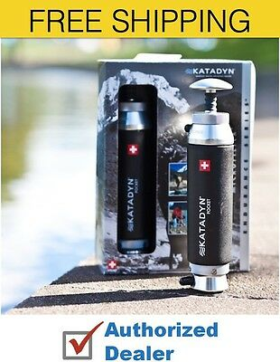 New 1 Katadyn Pocket Water Micro filter and Purifier 8013618, Free Shipping