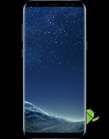 BRAND NEW BOXED SAMSUNG GALAXY S8 64G MIDNIGHT BLACK