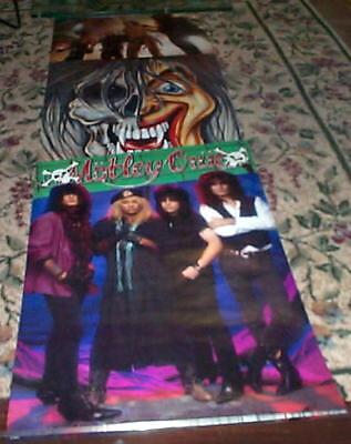 Vintage Huge Motley Crue (1990) Door Poster