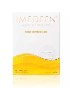 IMEDEEN TIME PERFECTION 120 TABLETS NEW/BOXED/SEALED , 1X 120 Tablets .