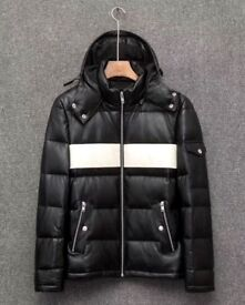 GIVENCHY FULL LEATHER JACKET BOMBER S SMALL BRAND NEW WITH TAGS BLACK