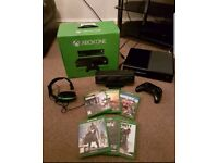 Xbox ONE kinect with 6 games