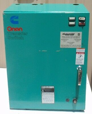 Onan Transfer Switch Otcu 70c