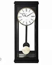 Howard Miller 625-440 (625440) Alvarez Wall Clock  - Black Satin