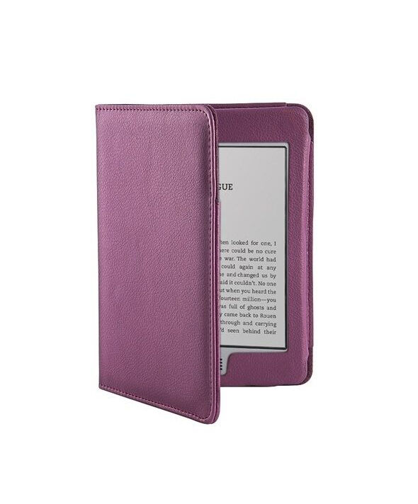 6-inch Leather Cover Case For Amazon Kindle Touch 3G