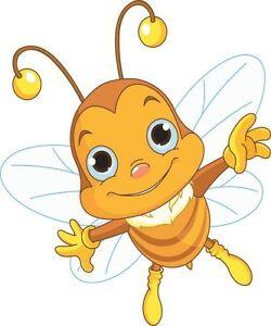 Aufkleber kleine Biene Autoaufkleber Sticker