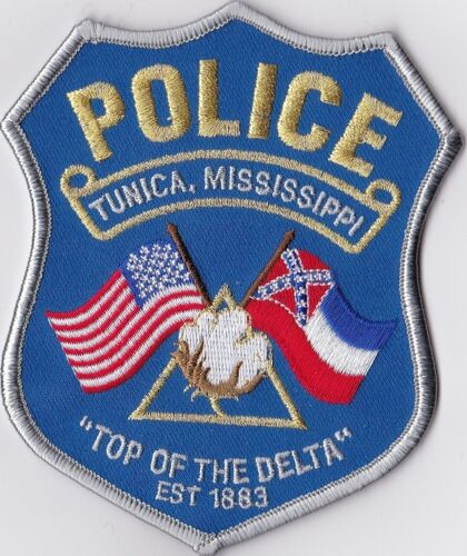Tunica Police Patch Mississippi MS