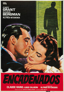 Notorious-1946-Cary-Grant-Ingrid-Bergman-Hitchcock-C-movie-poster-24x34-inches