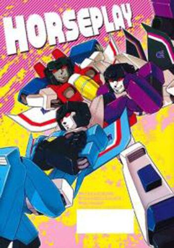Transformers yaoi Doujinshi /horse play/ ochawan wakachiko