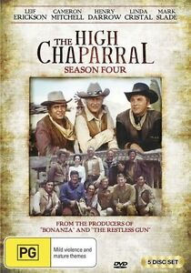 The High Chaparral : Season 4 (DVD, 5-Disc Set) BRAND NEW SEALED