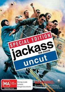 Jackass - The Movie  - Uncut (DVD, 2007) new and sealed