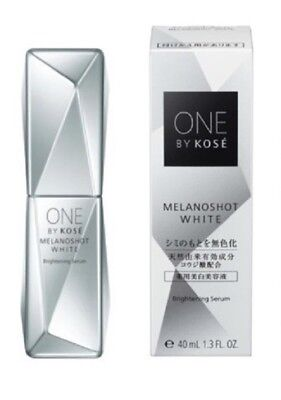 NEW ONE BY KOSE MELANOSHOT WHITE Brightening Serum 40mL Skin whitening serum
