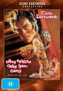ANY WHICH WAY YOU CAN DVD=CLINT EASTWOOD=REGION 4 AUSTRALIAN=NEW AND SEALED