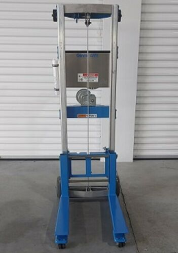 Genie Lift GL-8 STD, Invertible Fork Material Lift, Load Cap. 400 lb.