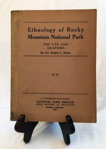 Ethnology of Rocky Mountain Nat