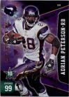 Panini Autographed Adrian Peterson Football Trading Cards