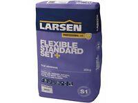 Tile Adhesive 20kg Larsen flexible standard set