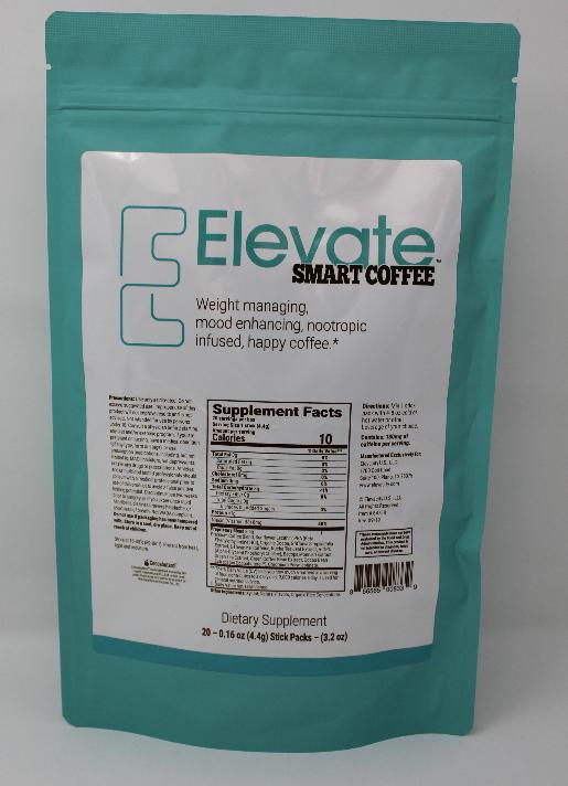 Elevate Smart Coffee Stick Packs (20/bag) (exp 09/2020)