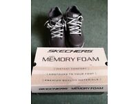 Brand new Size 9 Sketchers Memory Foam Trainers
