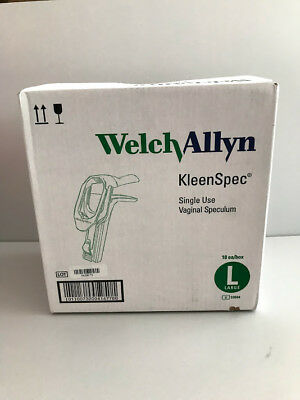 Welch Allyn 59004 Kleen Spec Single Use Vaginal Speculum L 18bx