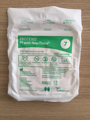 Cardinal Health 2d73te70 Protexis Pi With Neu-thera Powder Free Size 7 8pack