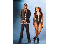 2 Jay Z and Beyonce Tickets in North Pitch Standing - London - 15th June