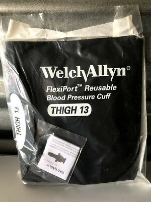 Welch Allyn Flexiport Blood Pressure Cuff Winflation Systemthigh Reuse-13-2bv
