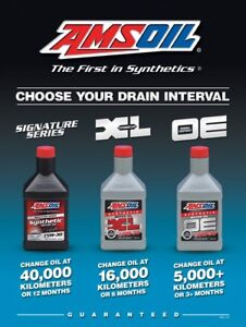 """""""SPRING SPECIAL"""" AMSOIL Synthetic Oils for Gas & Diesel"""