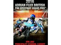 2 x tickets for speedway grand prix