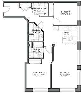 Centre Suites on 3rd, 945 3rd Ave E #318, $399,900