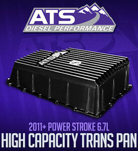 ATS Diesel High-Capacity Transmission Pan 2011+ Ford 6R140