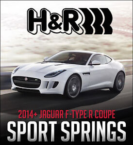 H&R Sport Springs for 2014+ Jaguar F-TYPE R Coupe