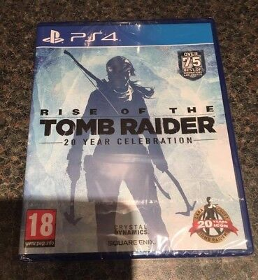 PS4 RISE OF THE TOMB RAIDER  NEW SEALED !