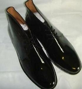 BLACK-PATENT-LEATHER-GEORGE-BOOTS-FOR-MESS-DRESS-FUNCTIONS