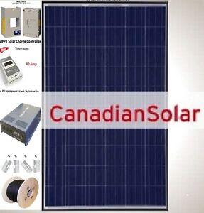 Complete Cottage Solar System/MPPT Controller/Sine Wave Inverter