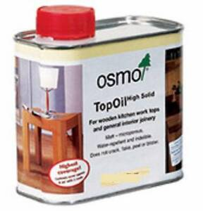 Osmo top oil for wooden kitchen tops food safe Kyabram Campaspe Area Preview