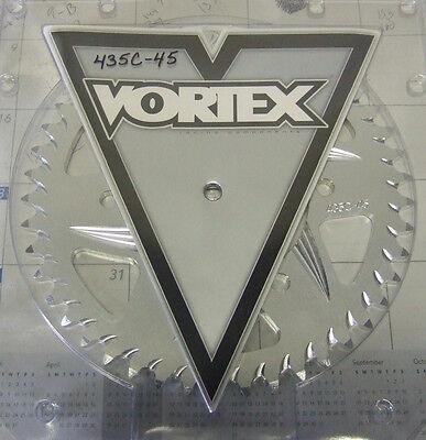 Vortex Motorcycle Rear Sprocket Silver 435C-45 Suzuki GSXR 600 750 Yamaha R6  comprar usado  Enviando para Brazil