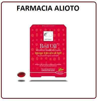 RED OIL 60 CPS OLIO DI KRILL NEW NORDIC OMEGA 3