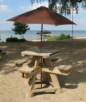 Bar Style 4 Seat Outdoor Table