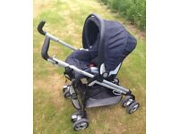 Mamas and papas switch pram . Stroller . Buggy . Pushchair . Mamas and papas . Travel system .