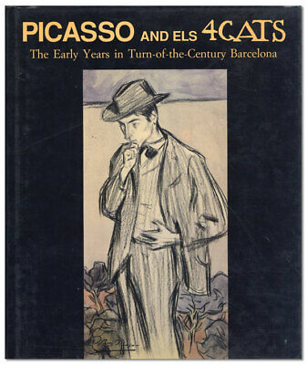 Ocaña PICASSO & ELS 4 GATS:  THE EARLY YEARS IN...BARCELONA 1996 1st ed/dj NF/NF for sale  Winchester