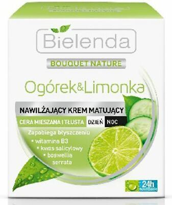 Bielenda Cucumber & Lime Mattifying Combination Oily Skin Cream - Cucumber Lime