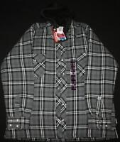 New Mens Insulated Work Sweater with Hood Size XXL