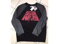 Star Wars Sweatshirt Jumper Size M New!