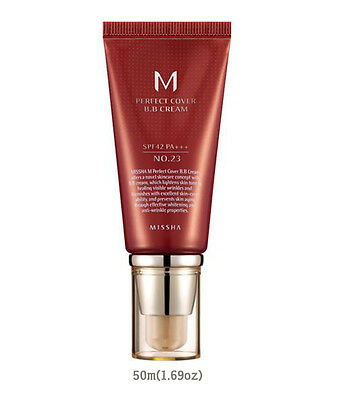[Missha] M Perfect Cover BB Cream #23 SPF42 PA+++ 50m 1.69oz Natural Beige Korea