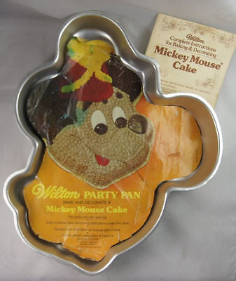Mickey Mouse Cake Pan from Wilton 302