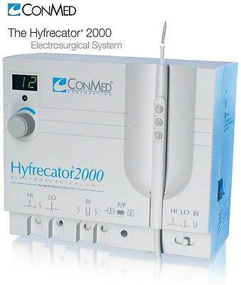 New Conmed Hyfrecator 2000 Electrosurgical Unit Dessicator 7-900-115